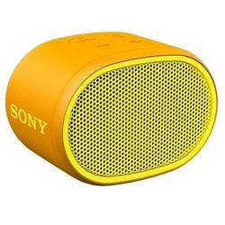 Sony SRS-XB01 (желтый) - Колонка для телефона и планшетаПортативная акустика<br>Портативная акустика моно, питание от батарей, линейный вход, Bluetooth, влагозащищенный корпус.