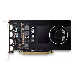 Dell Quadro P2000 PCI-E 3.0 5120Mb 160 bit DP (490-BDTN) - ВидеокартаВидеокарты<br>Профессиональная, память: 5120 Мб, GDDR5, 160 бит, DisplayPort x4.