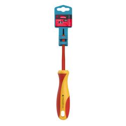 Отвертка Smartbuy Tools SBT-SCI-PH0x60P1 - ОтверткаОтвертки<br>Диэлектрическая отвертка, шлицевая PH0x60, до 1000В, VDE, прорезиненная ручка.
