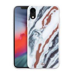 Чехол-накладка для Apple iPhone XR (LAUT MINERAL GLASS LAUT_IP18-M_MG_MW) (белый) - Чехол для телефонаЧехлы для мобильных телефонов<br>Чехол плотно облегает корпус и гарантирует надежную защиту от царапин и потертостей.