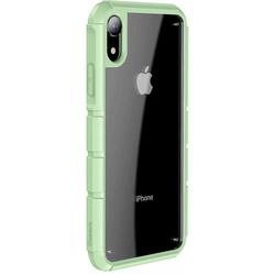 Чехол накладка для Apple iPhone XR (Baseus Panzer WIAPIPH61-TK06) (зеленый) - Чехол для телефонаЧехлы для мобильных телефонов<br>Baseus Panzer WIAPIPH61-TK06 представляет собой высокопрочный чехол для iPhone XR, выполненный в форм-факторе накладки и обеспечивающий беспрецедентную защиту. Уникальная двухкомпонентная конструкция позволяет защитить смартфон со всех сторон, а также оставить видимым дизайн его тыльной стороны. Усиленные углы, дополнительные вставки на ребрах и приподнятые бортики обеспечивают высокий уровень безопасности коммуникатора даже при падении на твердую поверхность.