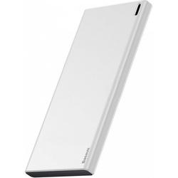Baseus Choc Powerbank 10000 mAh (PPALL-QK21) (белый) - Внешний аккумуляторУниверсальные внешние аккумуляторы<br>Baseus Choc Powerbank PPALL-QK21 является представителем третьего поколения внешних аккумуляторов компании с емкостью 10000 мА*ч и отличается более чем вдвое меньшим весом. Размером повербанк также стал меньше, при этом не утратив своих функций и высокой емкости. Модель получила возможность зарядки сразу от двух типов разъемов: USB-C и microUSB, выходной же интерфейс представлен портом USB Type A. Сила тока на нем достигает 2 А при 5 В.