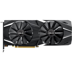 ASUS GeForce RTX 2070 1665MHz PCI-E 3.0 8192MB 14000MHz 256 bit HDMI HDCP Advanced DUAL (DUAL-RTX2070-A8G) RTL