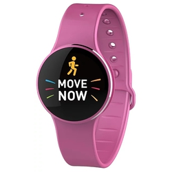 MyKronoz ZeCircle 2 (розовый) - Умные часы, браслетУмные часы и браслеты<br>Фитнес-браслет, влагозащищенный, сенсорный OLED-экран, поддержка уведомлений.