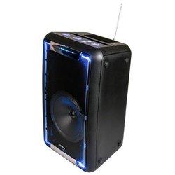 Портативная акустика Dialog AO-21 - Колонка для телефона и планшетаПортативная акустика<br>Портативная акустика Dialog AO-21 - звук моно, мощность 35 Вт, питание от батарей, Bluetooth, воспроизведение с USB-накопителя, microSD, радиотюнер