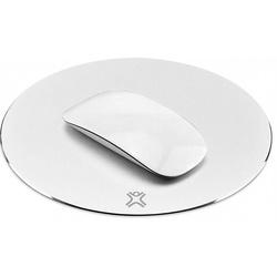 Xtrememac Aluminum Mouse Pad (XM-MPR-WHT) (белый) - Коврик для компьютерной мышиКоврики для мышей<br>Xtrememac Aluminum Mouse Pad - это стильный и удобный коврик для мыши, который изготовлен из шлифованного алюминия. Диаметр модели составляет 220 мм, а его высота равна 3 мм, что позволяет комфортно управлять мышью.