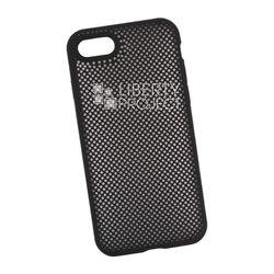 Чехол накладка для Apple iPhone 7, 8 (Silicone Dot Case) (черный) - Чехол для телефонаЧехлы для мобильных телефонов<br>Предназначен для защиты мобильного телефона от негативного воздействия внешних факторов (пыль, грязь).