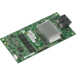 SuperMicro AOM-S3108M-H8 - КонтроллерКонтроллеры<br>Контроллер SAS, интерфейс: PCI-Express x4, версия интерфейса: 3.0, поддерживаемые уровни RAID 0, 1, 5, 6, 10, 50, 60, поддерживаемые дисковые интерфейсы SAS 12 Gb/s.