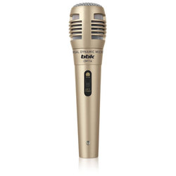 BBK CM114 (бронзовый) - МикрофонМикрофоны<br>Микрофон совмещает в себе высокое качество звука, надежность конструкции и удобство в эксплуатации.
