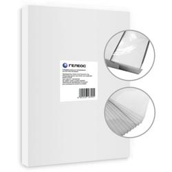 Пленка для ламинирования 200 мкм, А5, 154х216 мм (Гелеос LPA5-200) (100 шт) - Пленка глянцеваяПленка глянцевая<br>Пленка придает заламинированному документу более яркие цвета и защищает от внешних воздействий (ультрафиолетовых лучей, влаги, стирания текста и многого другого).