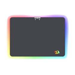 Коврик Redragon Aurora (серый) - Коврик для компьютерной мышиКоврики для мышей<br>Игровой коврик для мыши, RGB-подсветка (16 миллионов цветов подсветки), нескользящее резиновое основание и гладкая поверхность Speed.