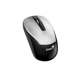 Genius ECO-8015 USB Silver - МышьМыши<br>Беспроводная мышь, ресивер USB, 800-1600 dpi, 2 кнопки + колесо, питание от аккумулятора.