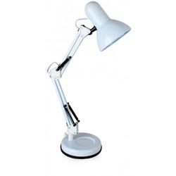 Светильник настольный Camelion KD-313 C01 (белый) - ОсвещениеНастольные лампы и светильники<br>Светильник настольный, 230V, 60W, E27.