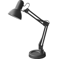 Светильник настольный Camelion KD-313 C02 (черный) - ОсвещениеНастольные лампы и светильники<br>Светильник настольный, 230V, 60W, E27.
