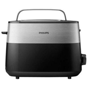 Тостер Philips HD 2516 - ТостерТостеры<br>Тостер Philips HD 2516 - 830 Вт, количество тостов: 2, решетка для подогрева булочек, поддон для крошек, quot;холодный корпусquot;