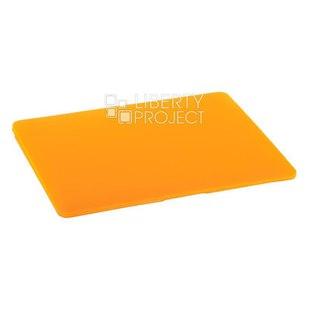 Чехол накладка для Apple Macbook 12 (Hard Shell Case 0L-00040609) (оранжевый) - Чехол для ноутбукаЧехлы для ноутбуков<br>Предназначен для защиты от негативного воздействия внешних факторов (пыль, грязь).