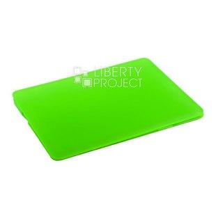 Чехол накладка для Apple Macbook Pro 13.3 2015 (Hard Shell Case 0L-00040636) (зеленый) - Чехол для ноутбукаЧехлы для ноутбуков<br>Предназначен для защиты от негативного воздействия внешних факторов (пыль, грязь).