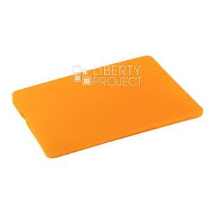 Чехол накладка для Apple Macbook Pro 13.3 2015 (Hard Shell Case 0L-00040611) (оранжевый) - Чехол для ноутбукаЧехлы для ноутбуков<br>Предназначен для защиты от негативного воздействия внешних факторов (пыль, грязь).