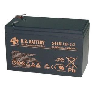 Батарея для ИБП BB SHR 10-12 - Батарея для ибпАккумуляторные батареи<br>Аккумуляторные батареи BB Battery SHR 10-12 являются герметизированными необслуживаемыми свинцово-кислотными АКБ, изготовленными по технологии AGM (поглощающее стекловолокно).