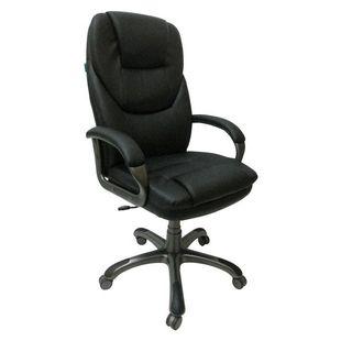 Бюрократ T-9905DG/BLACK - Стул офисный, компьютерныйКомпьютерные кресла<br>Механизм качания с регулировкой под вес и фиксацией в вертикальном положении. Регулировка высоты (газлифт). <br>Подлокотники с мягкими накладками из искусственной кожи. Ограничение по весу: 120 кг. Материал обивки: искусственная кожа.