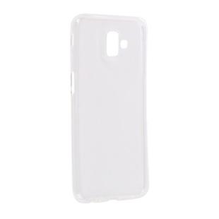 Чехол-накладка для Samsung Galaxy J6 Plus 2018 (iBox Crystal YT000016429) (прозрачный) - Чехол для телефонаЧехлы для мобильных телефонов<br>Чехол плотно облегает корпус и гарантирует надежную защиту от царапин и потертостей.