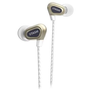 Наушники SmartBuy UTASHI Duo 2 (SBHX-570) (золотистый) - НаушникиНаушники и Bluetooth-гарнитуры<br>Наушники с микрофоном, вставные (затычки), количество драйверов: 2, разъем mini jack 3.5 mm.