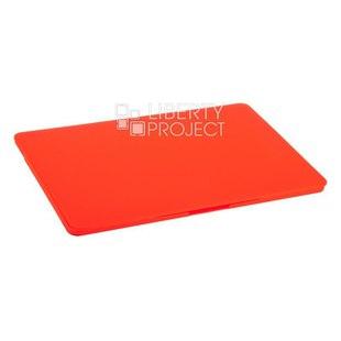 Чехол для Apple MacBook Pro 15.4 А1707 (Hard Shell Case) (красный) - Чехол для ноутбукаЧехлы для ноутбуков<br>Чехол обеспечит надежную защиту Вашего устройства от воздействия внешних факторов.