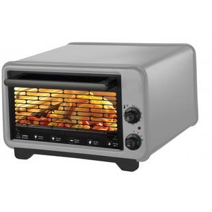Kumtel KF-3135 (серый) - Мини-печь, ростерМини-печи, ростеры<br>Жарочный шкаф 32л, 2 противеня: 1 круглый, 1 прямоугольный, термостат, общая мощность 1420Вт.