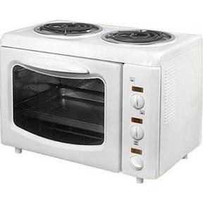 Гомельчанка ЭНТШ5-2-2,8/2 (белый) - Мини-печь, ростерМини-печи, ростеры<br>Электроплита двухкомфорочная с жарочным шкафом ЭНТШ-5 quot;Гомельчанкаquot;, номинальная потребляемая можность электроконфорок 1кВт: жарочного шкафа 0,8кВт, расход электроэнергии электроконфорок от 0.2 до 1кВт.
