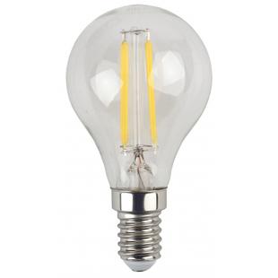 ЭРА F-LED P45-7w-840-E14 - ЛампочкаЛампочки<br>Светодиодная филаментная лампа, мощность 7Вт, цоколь Е14, материал: стекло, пластик, металл, срок службы: 30000 часов.