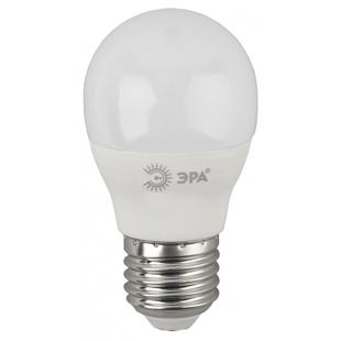 ЭРА ECO LED P45-10W-827-E27 - ЛампочкаЛампочки<br>Светодиодная лампа, цоколь E27, мощность 10Вт, материал: пластик, металл, форма колбы: шарик.