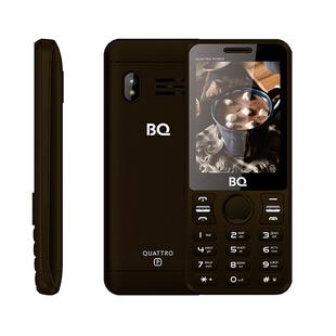 BQ-2812 Quattro Power (коричневый) ::: - Мобильный телефонМобильные телефоны<br>Новая модель от BQ