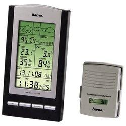 HAMA EWS-800 (черный/серебристый) - Цифровая метеостанция