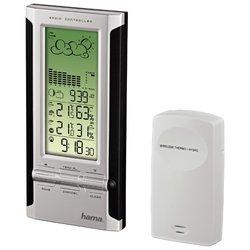 HAMA EWS-380 (черный/серебристый) - Цифровая метеостанция