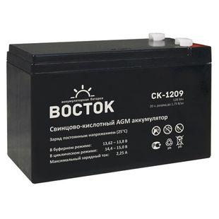 ВОСТОК (PRO) СК-1209 (12V/9Ач) - Батарея для ибп Назрань аксессуары для компьютеров