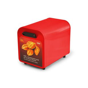 Жарочный шкаф Кедр ШЖ- 0,625/220 (красный) - Мини-печь, ростерМини-печи, ростеры<br>Жарочный шкаф, объем духовки - 14 л, номинальная потребляемая мощность - 0.625 кВт, 2 поддона.