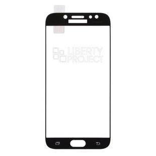 Защитное стекло для Samsung Galaxy J7 2017 (0L-00034450) (черный) - Защита