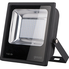 Gauss LED 150W IP65 6500К - Фонарь Хорол дешевле ру интернет магазин бытовой техники