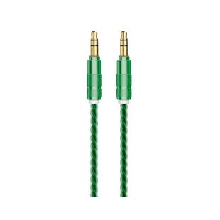 Кабель Jack 3.5 (M) - Jack 3.5 (M) 1м (OXION OX-AUX009GD) (зеленый) - Кабель, разъем для акустической системыКабели и разъемы для акустических систем<br>Аудио кабель, разъемы Jack 3.5 (M) - Jack 3.5 (M), длина 1м.