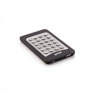 Gmini GM-PB040S-DC (черный) - Внешний аккумуляторУниверсальные внешние аккумуляторы<br>Аккумулятор емкостью 4000 мАч, максимальный ток 1А, один разъем USB, в комплекте кабель microUSB-Lightning, оснащен присосками.