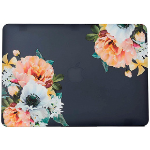 Чехол для MacBook Air 13 (2018) A1932 (i-Blason Cover Flowers) - Чехол для ноутбука