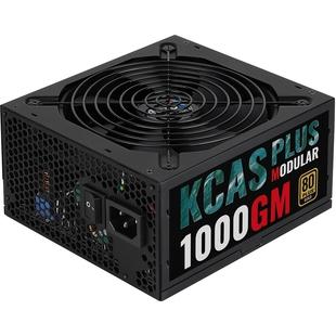 Aerocool KCAS PLUS 1000GM 1000W RTL - Блок питанияБлоки питания<br>Блок питания 1000Вт, 80 PLUS Gold, 1 вентилятор 140мм, APFC.