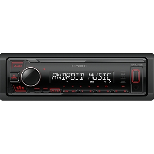 Kenwood KMM-105RY - АвтомагнитолаАвтомагнитолы<br>Цифровой ресивер KENWOOD KMM-105RY в черном корпусе имеет компактные размеры. Помимо этого у него множество плюсов: высокочувствительный FM-тюнер, вещающий радиостанции в диапазоне FM, что позволит слушать любимую радиостанцию в дороге и наслаждаться лаконичным звучанием. МР3-декодер, преобразовывающий цифровой сигнал в чистый звук. Устройство читает аудио форматы МР3. Его монохромный дисплей потребляет минимум энергии, несмотря на это, информация на нем читается превосходно.