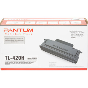 Тонер картридж для Pantum P3010D, P3300DW, M6700D (TL-420H) (черный) - Картридж для принтера, МФУКартриджи<br>Совместим с моделями: Pantum P3010D, P3300DW, M6700D