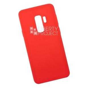 Чехол накладка для Samsung Galaxy S9+ (0L-00040825) (красный) - Чехол для телефонаЧехлы для мобильных телефонов<br>Чехол обеспечит надежную защиту Вашего мобильного устройства от повреждений, загрязнений и других нежелательных воздействий.