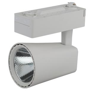 Трековый Светильник ЭРА COB TR4 - 30 WH (Б0032161) (белый) - ОсвещениеНастольные лампы и светильники<br>Трековый светодиодный светильник, предназначенный для монтажа на шинопроводе.