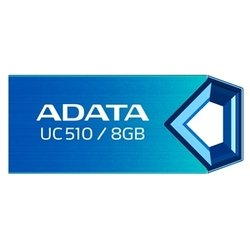 adata dashdrive uc510 8gb (синий)