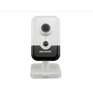 Hikvision DS-2CD2443G0-IW 4мм (белый) - Камера видеонаблюденияКамеры видеонаблюдения<br>IP-камера, разрешение 4Мп, матрица 1/3 Progressive Scan CMOS, аппаратный WDR 120дБ, обнаружение движения, вторжения в область и пересечения линии, встроенные микрофон и динамик, Wi-Fi, слот для microSD до 128Гб, ИК-подсветка до 10м.