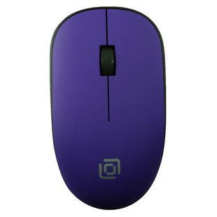 Oklick 515MW Black-Purple - МышьМыши<br>Беспроводная мышь, интерфейс USB, 2 кнопки + колесо, 1200dpi.
