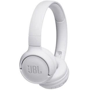 JBL T500BT (белый) - НаушникиНаушники и Bluetooth-гарнитуры<br>Беспроводные Bluetooth-наушники с микрофоном, диапазон частот 20-20000Гц, складная конструкция.